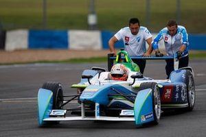 Liuzzi Donington Formula E testing 2015