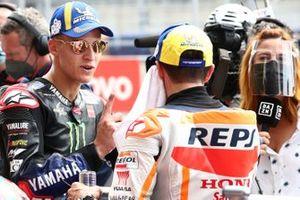 Fabio Quartararo, Yamaha Factory Racing Marc Marquez, Repsol Honda Team