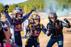 Timmy Hansen, Hansen World RX Team Peugeot 208, Kevin Hansen, Hansen World RX Team Peugeot 208, Kevin Abbring, Unkorrupted Renault Mégane RS