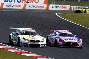 Marco Wittmann, Walkenhorst Motorsport BMW M6 GT3, Maximilian Götz, Haupt Racing Team Mercedes AMG GT3