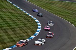 James Davison, B.J. McLeod Motorsports, Toyota Supra ERA Motorsport and Sam Mayer, JR Motorsports, Chevrolet Camaro