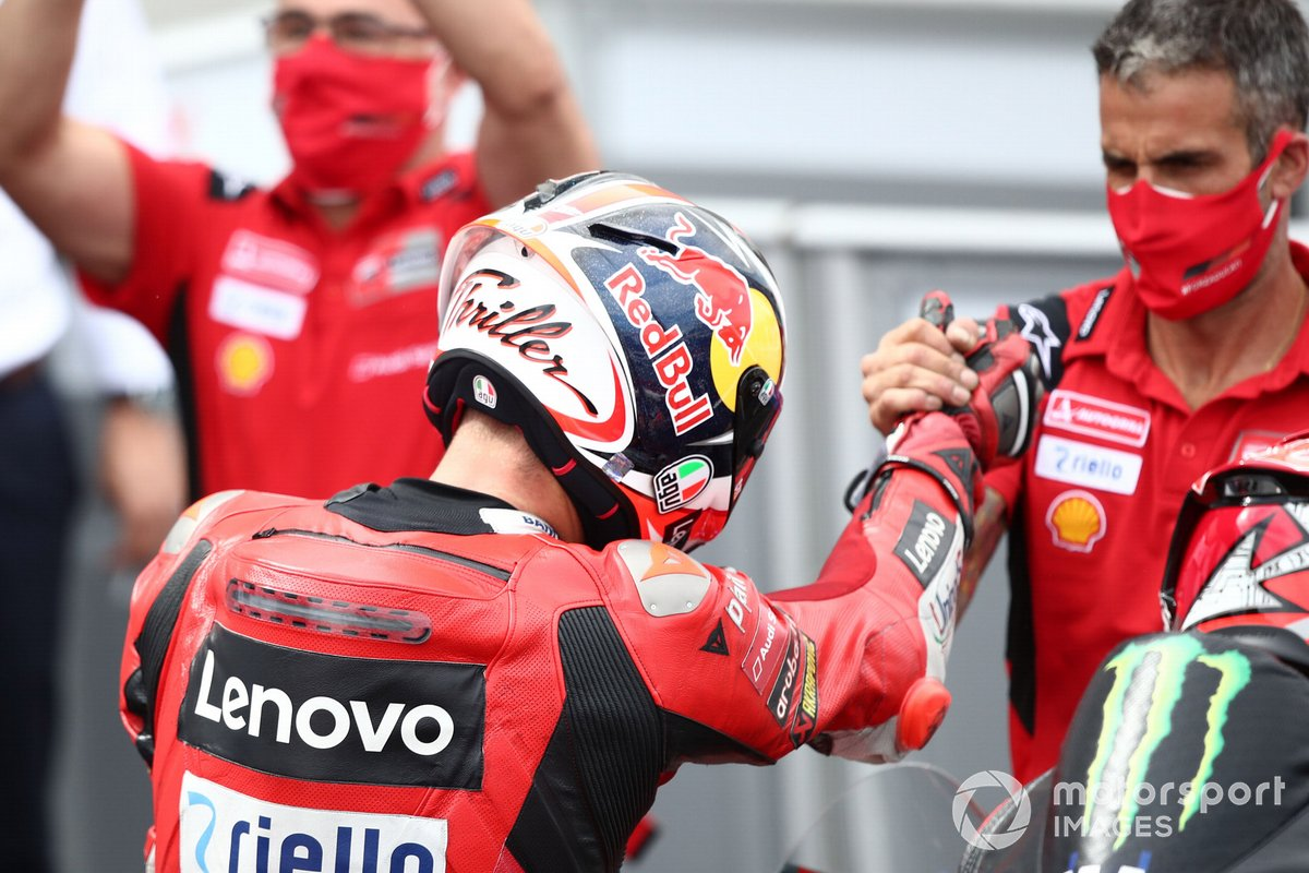 Segundo puesto Jack Miller, Ducati Team