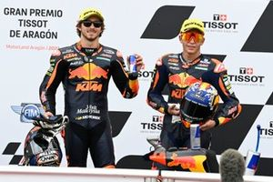 Remy Gardner, Red Bull KTM Ajo, Raul Fernandez, Red Bull KTM Ajo