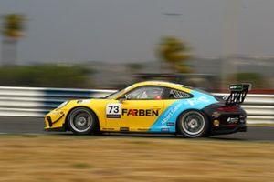 Enzo Elias na Porsche Cup em Goiânia