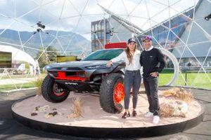Audi alla Dakar: Stéphane Peterhansel e Sofia Goggia