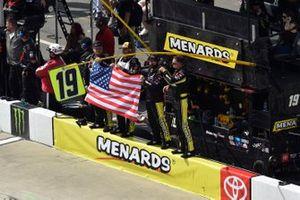 Brandon Jones, Joe Gibbs Racing, Toyota Supra Menards/Atlas