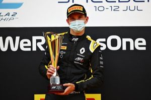Race winner Christian Lundgaard, ART Grand Prix