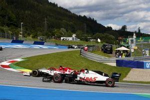 Кими Райкконен, Alfa Romeo Racing C39, Ромен Грожан, Haas VF-20