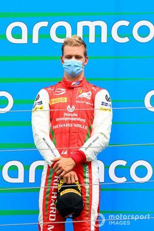 Mick Schumacher, Prema Racing sul podio