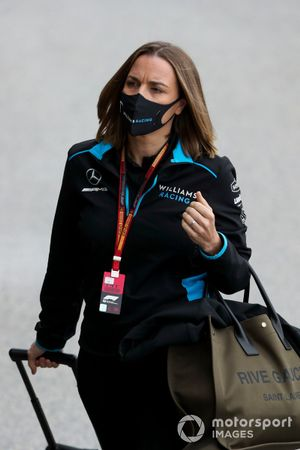 Claire Williams, Directrice Générale Adjointe, Williams Racing