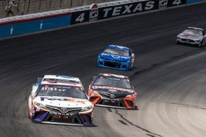 Denny Hamlin, Joe Gibbs Racing, Toyota Camry FedEx Office, Erik Jones, Joe Gibbs Racing, Toyota Camry Craftsman