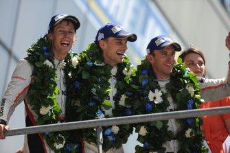 1. #2 Porsche LMP Team Porsche 919 Hybrid: Timo Bernhard, Earl Bamber, Brendon Hartley