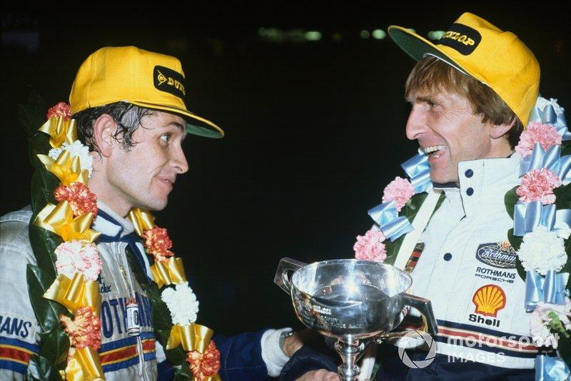 Brands Hatch 1000km 1982: Jacky Ickx, Derek Bell, Porsche 956