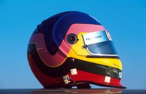 Jacques Villeneuve, BAR, helmet