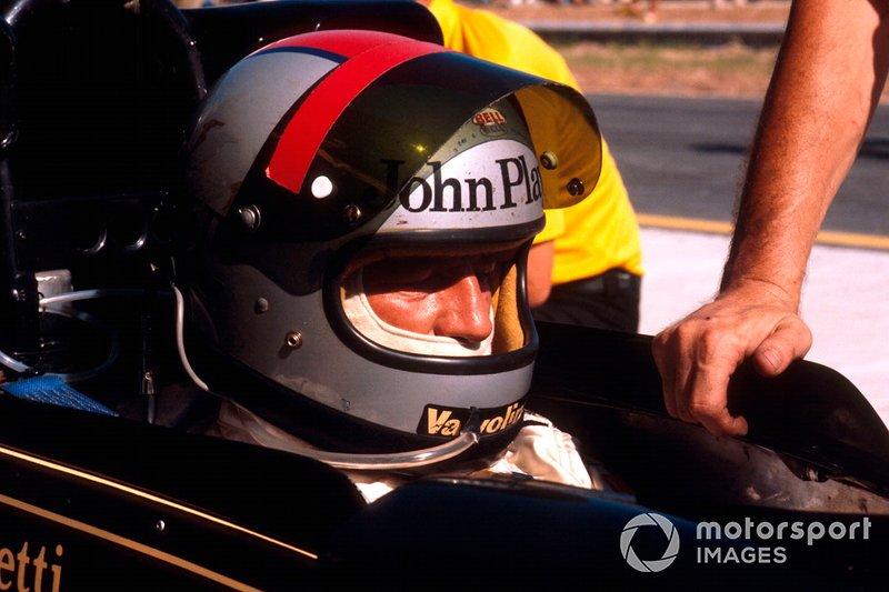 GP Brazylii: Mario Andretti, Lotus Ford