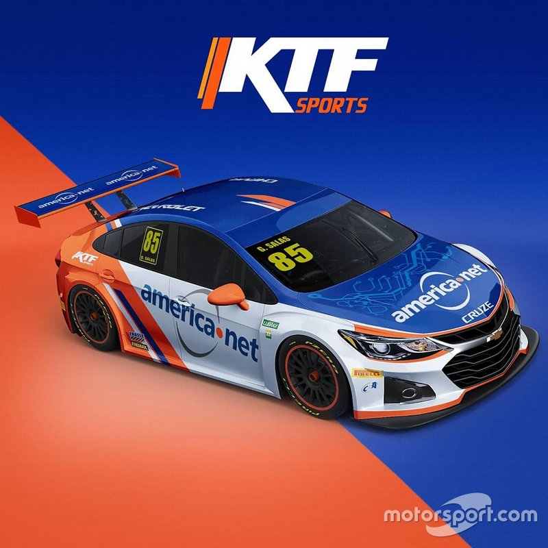 Guilherme Salas - Equipe KTF Sports