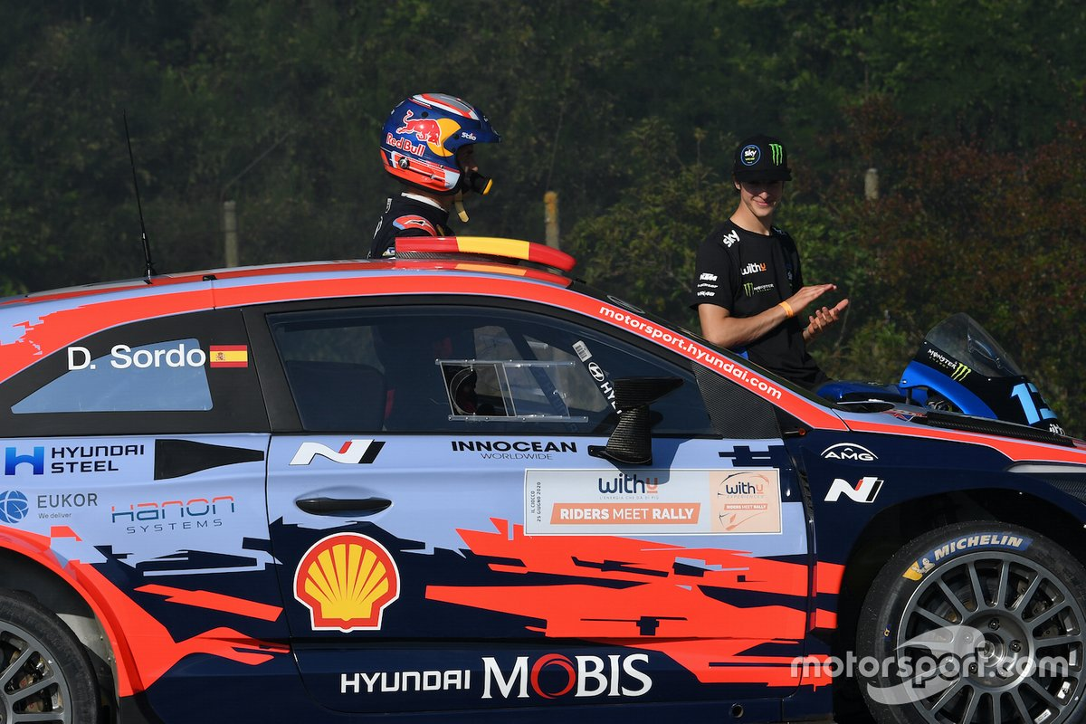 Celestino Vietti, Sky Racing Team VR46, Dani Sordo, Hyundai I20 Coupe WRC