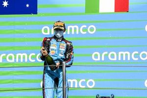 Matteo Nannini, Jenzer Motorsport on the podium