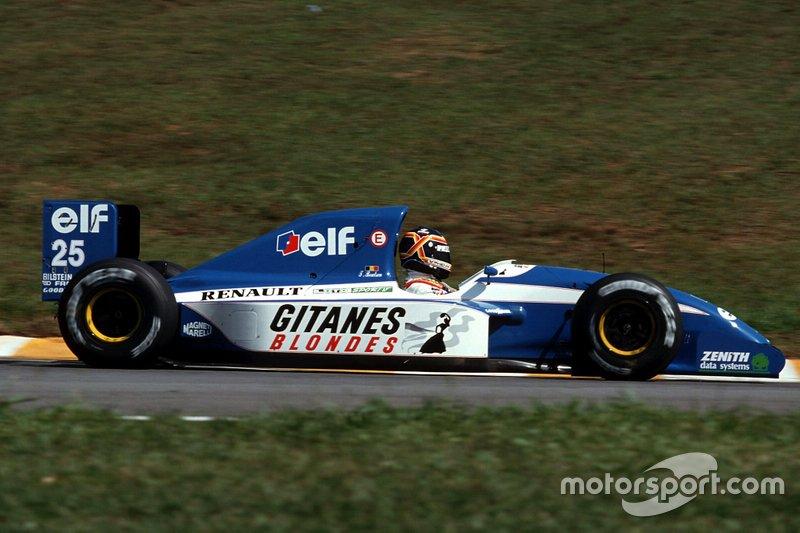 Thierry Boutsen, Ligier JS37 Renault