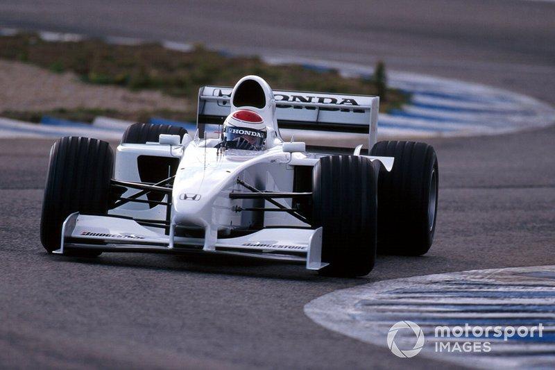 Jos Verstappen, Honda RA099 F1 test car