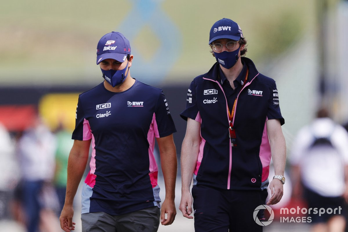 Sergio Pérez, Racing Point y Will Hings