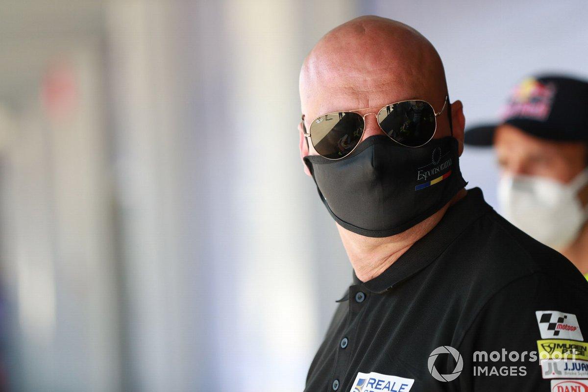 Raúl Romero, propietario del equipo Avintia de MotoGP
