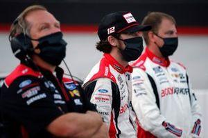 Ryan Blaney, Team Penske, mit Todd Gordon