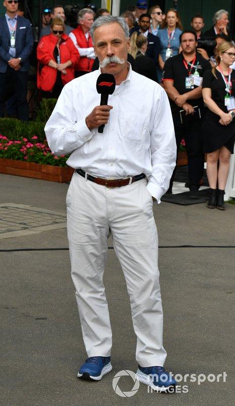 Chase Carey, Presidente, Formula 1