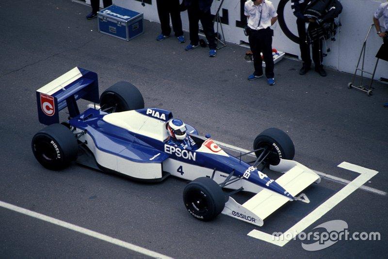 #4: Jean Alesi (Tyrrell)