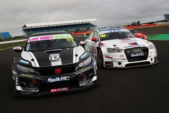 Michael Crees, BTC Racing Honda Civic Type R, James Gornall, TradePriceCars.com Audi S3 Saloon