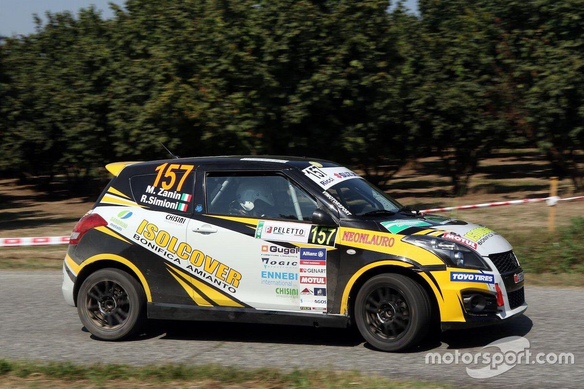 Mattia Zanin, Roberto Simioni, Suzuki Swift R1b
