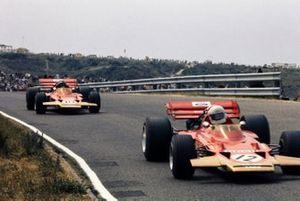 John Miles, Lotus 72B Ford, Jochen Rindt, Lotus 72C Ford