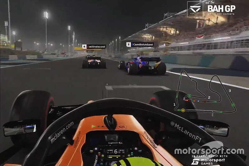 Lando Norris, F1 2019 screenshot