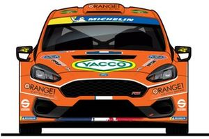 Adrien Fourmaux, Orange1 Racing, M-Sport, Ford Fiesta R5 MkII