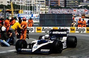 Elio de Angelis, Brabham BT55 BMW