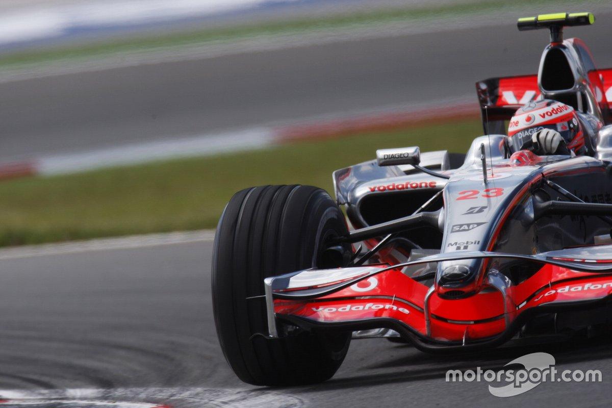Heikki Kovalainen, McLaren MP4-23 Mercedes