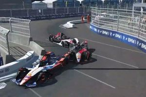 Pascal Wehrlein, Mahindra Racing, Oliver Rowland, Nissan e.Dams, Neel Jani, Porsche