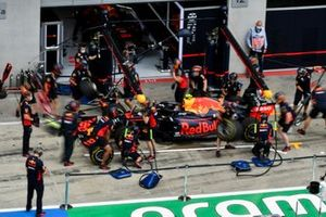 Red Bull Raccing Pit Stop Practice