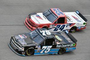 #75 Parker Kligerman, Kris Wright, GMS Racing, Chevrolet Silverado