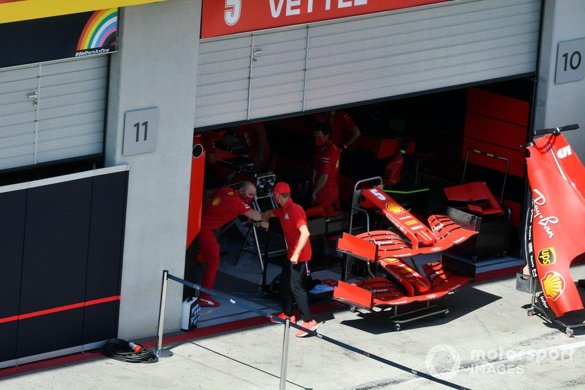 Mick Schumacher, Prema Racing saluta un meccanico della Ferrari