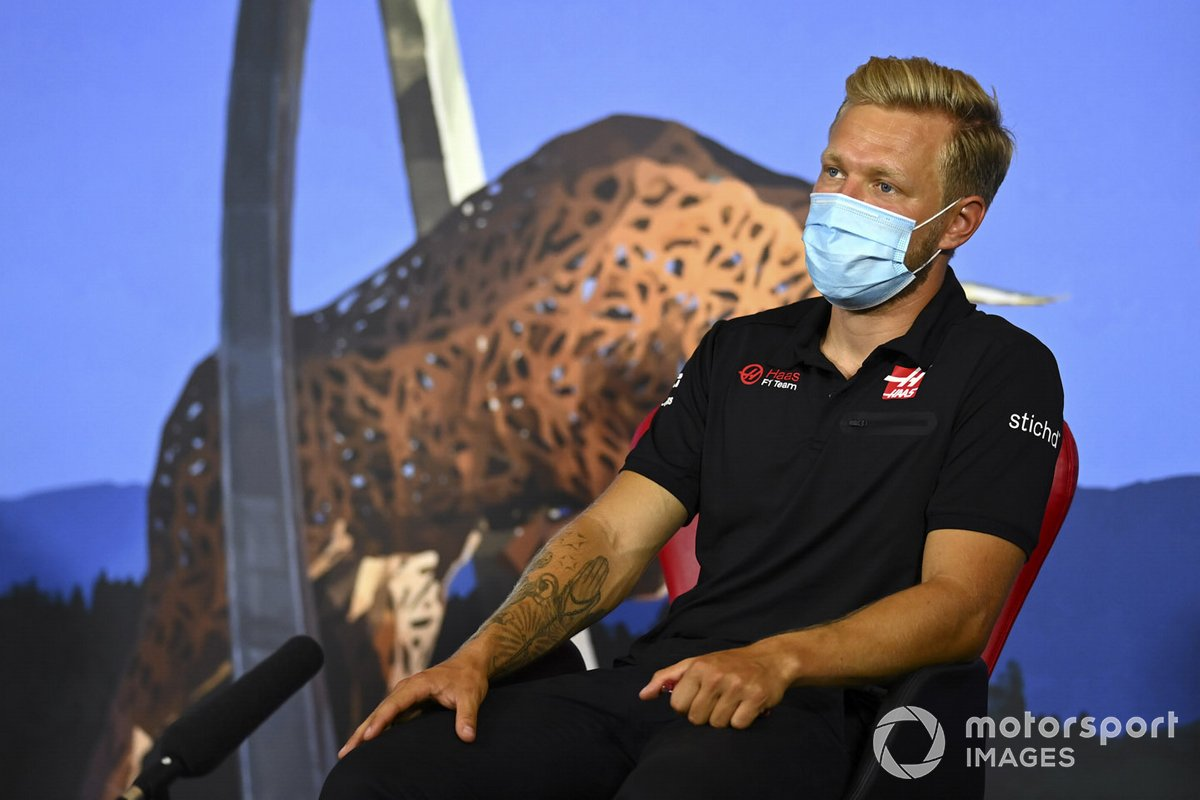 Kevin Magnussen, Haas F1 in the press conference