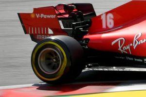 Заднее антикрыло Ferrari SF1000