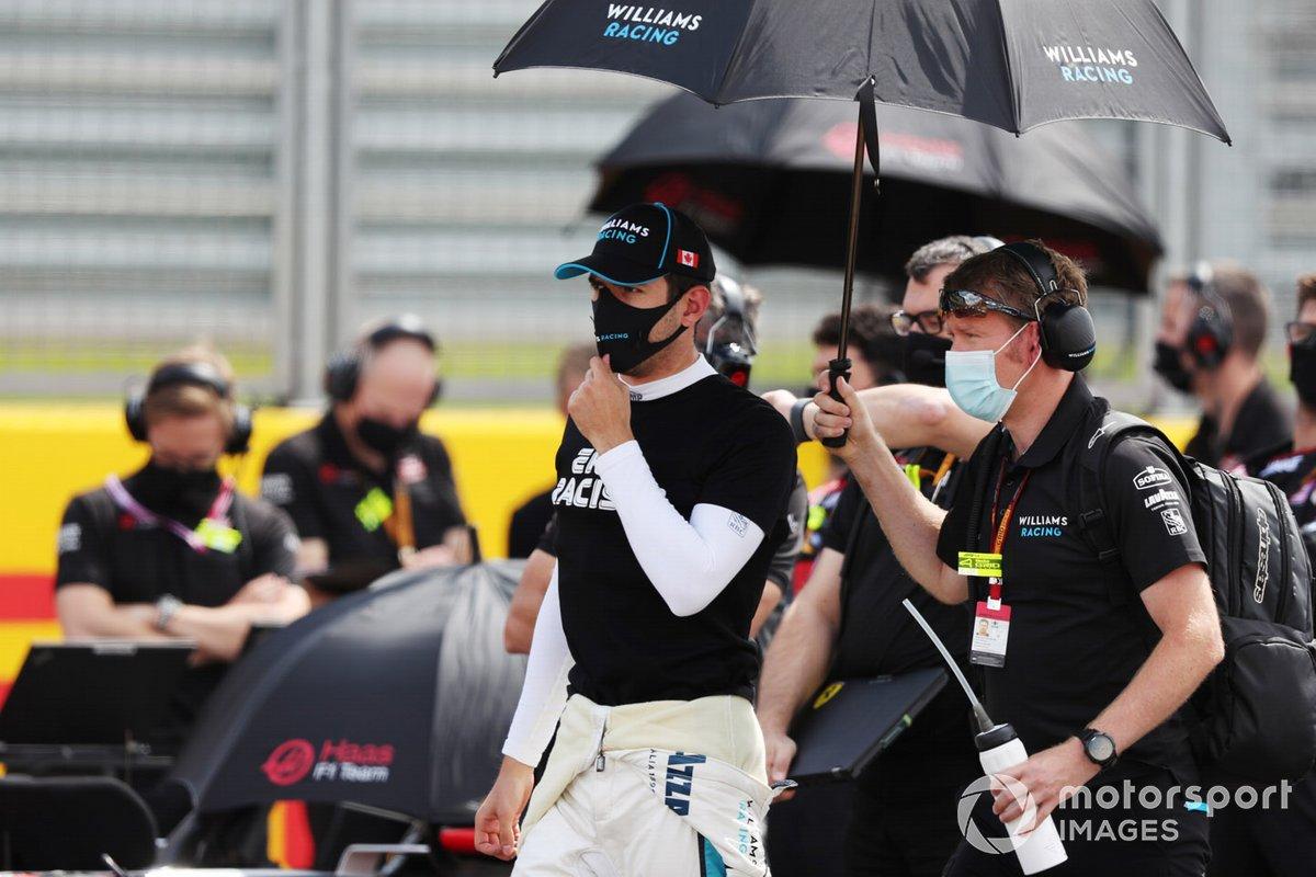Nicholas Latifi, Williams Racing, se opone al racismo en la parrilla