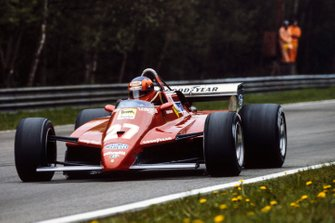 Жиль Вильнев, Ferrari 126C2