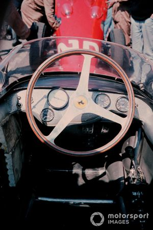 Cockpit of Ritchie Ginther, Ferrari 156
