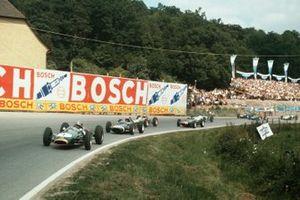 Jack Brabham, Brabham BT3-Climax, Joakim Bonnier, Cooper T60-Climax