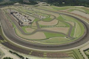 Aerial view of the circuit