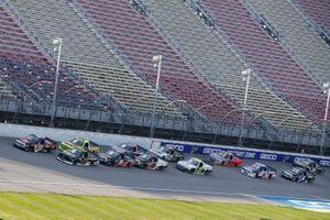 Brett Moffitt, GMS Racing, Chevrolet Silverado Chandler Smith, Kyle Busch Motorsports, Toyota Tundra JBL