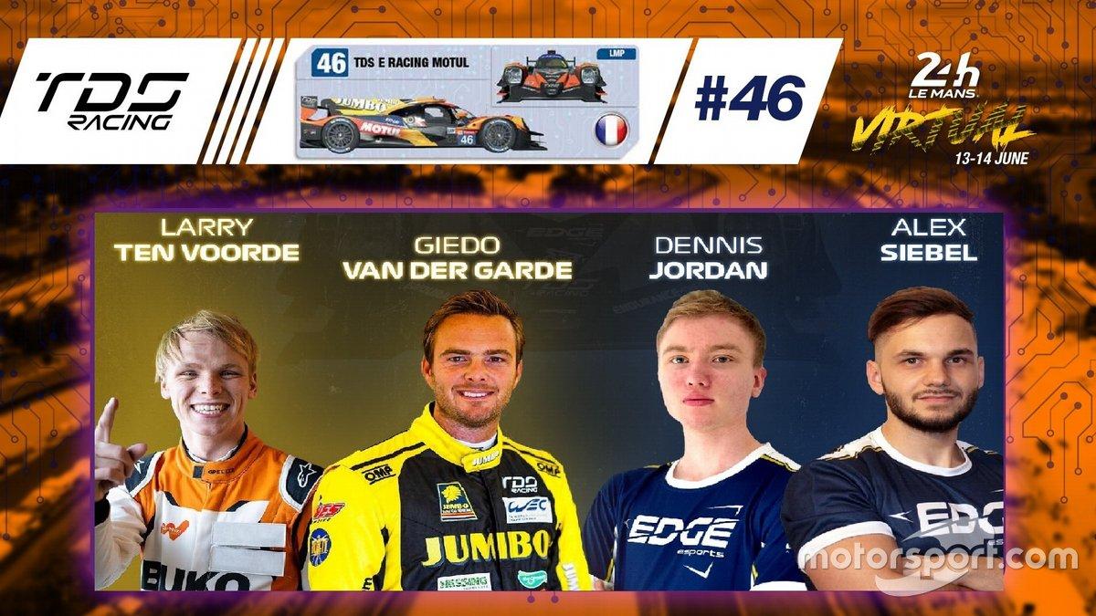 #46 TDS E Racing - Oreca 07 LMP2