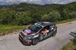Daniele Campanaro, Irene Porcu, Gass Racing, Ford Fiesta Rally4